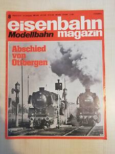Eisenbahnmagazin Modellbahn 08/1976 - sehr guter Zustand (308)
