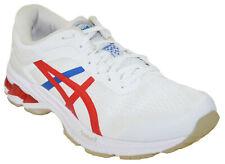Asics Men's Gel-Kayano 26 Running Shoe Style 100 White/Classic Red