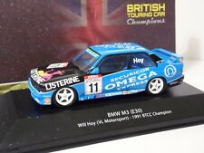 ATLAS EDITIONS - 1991 BMW M3 - WILL HOY - 1/43.SCALE - TOURING CARS COLLECTION