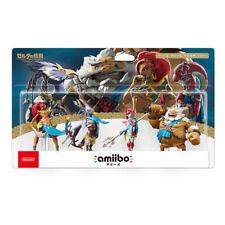 Nintendo Amiibo Legend of Zelda Breath Wild Limited Edition 4 Set Daruk Figure