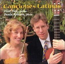 Canciones Latinas  Eliot Fisk & Paula Robison  1999 by Fisk, *NO CASE DISC ONLY*