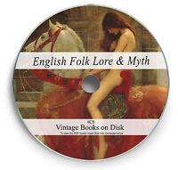 130 Rare Books On DVD English Folk Lore Myth Legend Fairy Tales Superstition C0