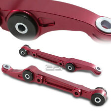 Fit Eg/Ej/Dc/Dc2 Aluminum Red Suspension Front Lower Control Arm/Bar+Bushing