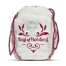 BAG of HOLDING - Drawstring Dice Bag - Holds Over 200 Dice - RPG D&D Dice Bag