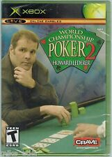 World Championship Poker 2 Featuring Howard Lederer (Xbox, 2005) Factory Sealed