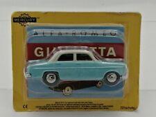 Ex Mag Alfa Romeo Giulietta Mercury Hachette -1/48 Scale with carded box