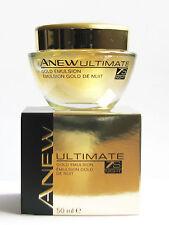 AVON Anew Ultimate 7S Night Gold Emulsion 50ml - 1.7oz Fresh NEW