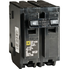 Square D Homeline 60A Double-Pole Standard Trip Circuit Breaker HOM260C  - 1
