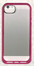 """Griffin """"Flouro Fire (Pink)/Clear"""" Reveal Case for iPhone 5 & 5s - GB35993-2"""