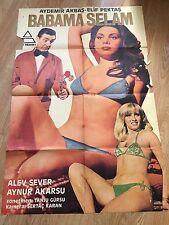 Hello To My Father - Affiche du Film Turc Erotique - Turkish Erotic Movie Poster