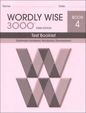 Wordly Wise 3000 Grade 4 Tests **3rd Edition**