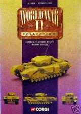 CORGI militaire seconde guerre mondiale catalogue brochure octobre à décembre 2003