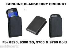 Genuine BlackBerry Slide In Pocket Pouch Case for Curve 8520 9300 Bold 9700 9780