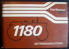 Fiat Schlepper 1180 Betriebsanleitung