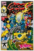 """Ghost Rider #27 (1992 Marvel) """"Vengeance Pure and Simple""""  Feat. The X-Men! NM"""