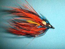 Fly Fishing Flies - Trad. Thunder Spey Double Steelhead Fly size #8 (3 ea.)