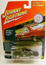 1965 '65 PONTIAC GTO BLUE POLICE COP CAR BTH JOHNNY LIGHTNING CLASSIC GOLD 2017