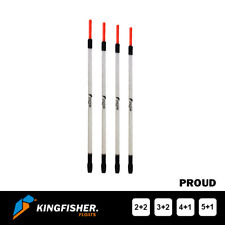 """WAGGLER FISHING FLOATS The Kingfisher """"Proud"""" Pack of 4"""