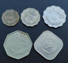IRAQ 1-5-10-250-500 FILS 1959/1967/1981 LOT 5 COINS