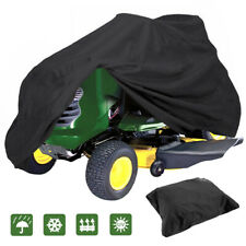 "Waterproof UV 55"" Long Riding Lawn Mower Tractor Cover Protector Garden Outdoor"