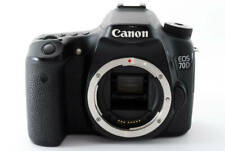 Canon EOS 70D 20.2MP Digital SLR Camera - Black (Body Only) W/Battery Charger