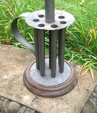 VINTAGE TIN CANDLE MOLD LAMP