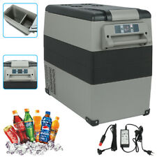 Portable ABS Compressor Fridge Freezer 55 Litre Mini AC/DC Cooler 0.36kwh/24h
