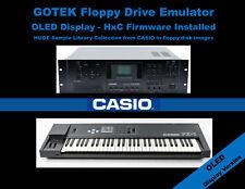 GOTEK Floppy Drive Emulator OLED Display HxC CASIO FZ1 FZ10M FZ20M +LIBRARY