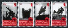 BIOT Brit Indian Ocean Ter 2018 MNH WWI WW1 World War I 4v Set Military Stamps