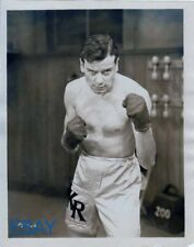 Norman Foster barechested boxer VINTAGE Photo