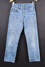 VTG LEVI'S 501 Button Fly High Waisted Boyfriend Denim Jeans USA Women's 26x30