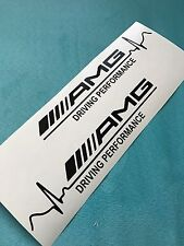 2x AMG Driving Performance Aufkleber Car Window Bumper Sticker Vinil Decal 153
