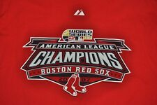 T-SHIRT XL XLARGE BOSTON RED SOX REDSOX 2007 AMERICAN LEAGUE CHAMPIONS SHIRT