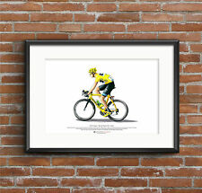 Chris Froome - Tour de France 2013 winner - ART POSTER A3 size
