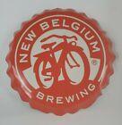New Belgium Brewing Fat Tire Bottle Cap Metal Sign Aluminum