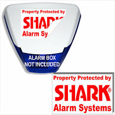 1 x Burglar Alarm Bell Box Sticker-Home,Business External Security Safety Sign