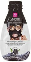 KISS Ruby Kisses Charcoal Mask Peel-Off Packette .35 oz (Pack of 2)