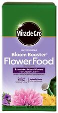 (1) NEW MIRACLE GRO 4 LB BLOOM BOOSTER 10-52-10 PLANT FOOD NON BURNING- 146002