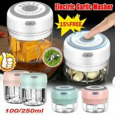 Picador de carne Eléctrico Mini-Ajo Amoladora triturador para nuez de Frutas y Verduras Alimentos