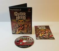 Guitar Hero: Aerosmith (Sony PlayStation 2, 2008) ps2 free shipping