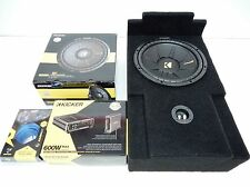 "2007 to 2014 GMC Yukon 12"" Sub Box subwoofer Enclosure Console 2009 2010 2011"