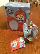 """Dr. Suess """"Horton and Whozit Ornament"""""""