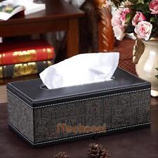 Car Home Decor Tissue Box Ancient Egypt Rectangle PU Leather Napkin Paper Cover