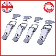 euhuton 4 Pack Stainless Steel Spring Loaded Toggle Latch Catch Clamp Clips for