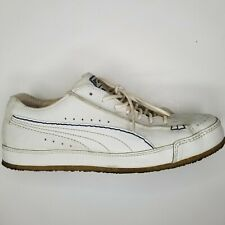 Puma Salesmen Sample leather low shoe with stickers size 8.5 rare find nice shoe