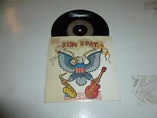 """KING KURT - America - Rare 1986 UK 2-treack 7"""" Vinyl Single"""