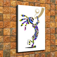 kokopelli wall art  Art with Rustic Copper Finish Hanging