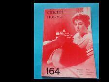 CINEMA NUOVO nr. 164 del 1963
