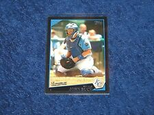 JOHN BUCK KANSAS CITY ROYALS 2009 TOPPS #322 BLACK 08/58 (E1)