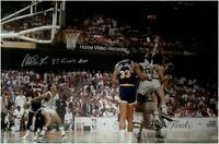 Magic Johnson Hand Signed Autograph 20X30 Photo Lakers Action 87 Finals MVP JSA